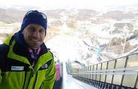 Pasaulio čempiono laukia neįprasta misija – darbas žiemos olimpinėse žaidynėse