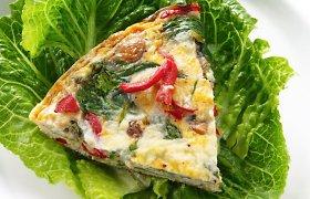 Kiaušinių ir daržovių duetas: omletai, kiaušinienės ir kiti greiti patiekalai. 15 receptų