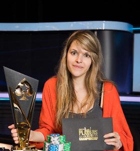 PCA pagrindiniame turnyre pirmąsyk triumfavo moteris