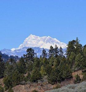 Aukščiausias planetos kalnas, į kurį dar niekas nėra įkopęs