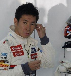 Į F-1 sugrįžta K.Kobayashi