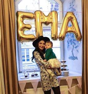"""Sofio Gelašvili pirmagimei surengė 1-ojo gimtadienio šventę: """"Net graudinuosi – kaip ji greit auga"""""""