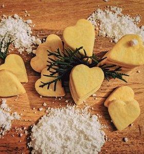 Greitai pagaminami skanutėliai sviestiniai sausainiai