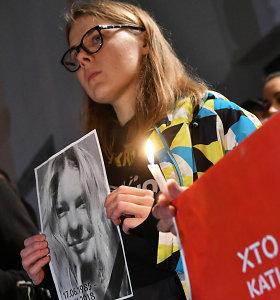 Ukrainiečių aktyvistės mirtis po atakos rūgštimi gilina politinę krizę šalyje
