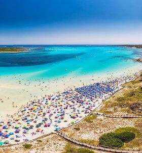 Vienas gražiausių Italijos paplūdimių ribos lankytojų skaičių ir taps mokamu