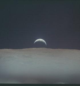 Pasaulis mini pirmojo žmonių išsilaipinimo Mėnulyje 50-ąsias metines