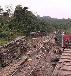 Kongo Demokratinės Respublikos pietryčiuose per traukinio avariją žuvo 50 žmonių