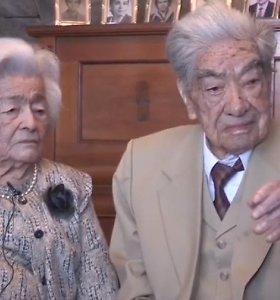 Sutuoktiniai iš Ekvadoro tapo seniausiai susituokusia pora pasaulyje