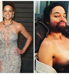 """Tokios """"Greitų ir įsiutusių"""" žvaigždės Michelle Rodriguez dar nematėte: nuogomis krūtimis ir su barzda"""