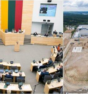 Po prezidentės veto Seimas iš naujo svarstys atliekų deginimo jėgaines apribosiantį įstatymą