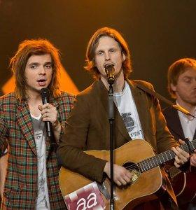 """Susipažinkite: latviams """"Eurovizijoje"""" atstovaus grupė """"Aarzemnieki"""""""