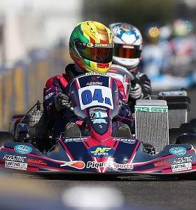 Prestižinėse JAV kartingo varžybose F1 čempiono komandoje – 14-metis lietuvis