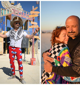 """Jurgis Didžiulis: kodėl """"Burning Man"""" sudeginau 10 tonų CO2?"""