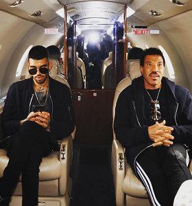 Dainininko Lionelio Richie sūnus suimtas oro uoste: grasino įsinešti bombą į lėktuvą