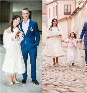 Su 15 metų jaunesniu mylimuoju susituokusi Rūta Lukoševičiūtė laukiasi kūdikio