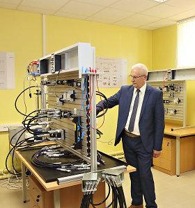 Kauno technikos kolegija atidaro 40 tūkst. vertės hidraulikos laboratoriją