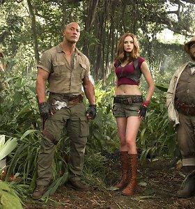 """Filme """"Džiumandži: sveiki atvykę į džiungles"""" – scena mirusiam aktoriui Robinui Williamsui"""