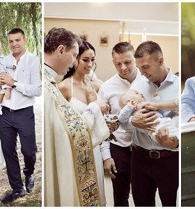 Greta Lebedeva su vyru Aleksandru pakrikštijo sūnų Eldarą: suteikė ypatingą krikšto vardą