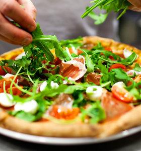 Savaitgalio pasiūlymas – naminė pica