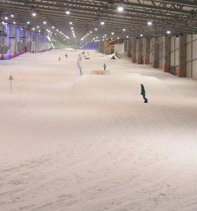 """Druskininkų savivaldybė patvirtino perimanti """"Snow Areną"""""""