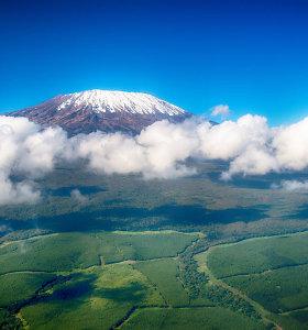 Leisdamasis parašiutu nuo Kilimandžaro žuvo kanadietis turistas