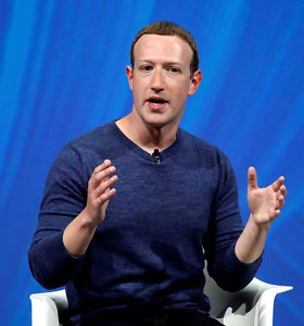 M.Zuckerbergas pareiškė palaikantis naujos skaitmeninio mokesčio sistemos siekį