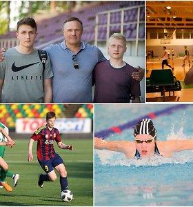 Įsidėmėkite juos: jaunuoliai, kurie garsins Lietuvos vardą sporto arenose ateityje