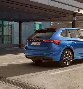 """Naujoji """"Škoda Scala"""": įkvėpta futūristinio """"Vision RS"""""""