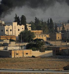 Per Turkijos antpuolį Sirijoje sekmadienį žuvo 26 civiliai