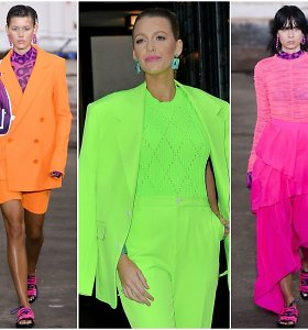 Viena šios vasaros tendencijų – neoninės spalvos: išdrįskite būti ryškios!