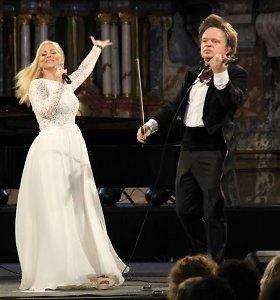 Vaidos Genytės ir Zbignevo Levickio koncertas Šv. Kotrynos bažnyčioje
