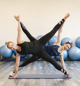"""Treniruočių studijos bendraįkūrėja S.Povilonytė: """"Sportuoti reikia siekiant tvirto ir ištvermingo kūno, o kilogramai ištirps patys"""""""