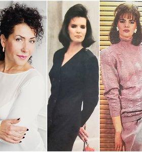 Plaukų stilistė L.Povilavičiūtė apie 10-o dešimtmečio šukuosenas: moterys dėjosi cheminius ir vėlė kirpčius