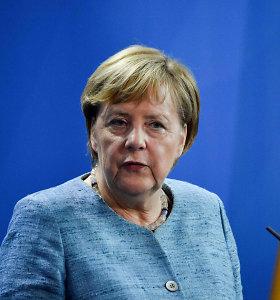 A.Merkel kitąmet sakys kalbą Harvardo universiteto absolventams