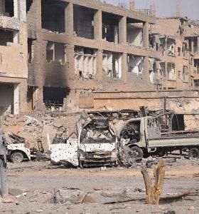 Sirijoje smogta vyriausybės oro pajėgų bazei – raketas greičiausiai paleido Izraelio aviacija