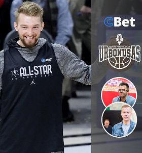 """""""urBONUSas"""": NBA užkulisiai ir pagarba Sabui, intrigos Lietuvoje bei """"Žalgirio"""" banga"""