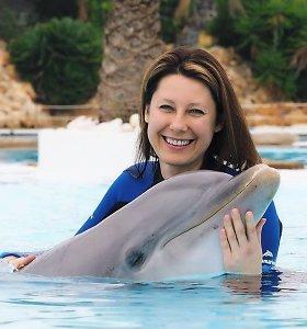 Delfinų terapijos centro vadovė B.Kreivinienė: autistas gali nemokėti užsirišti batų, bet būti genijus