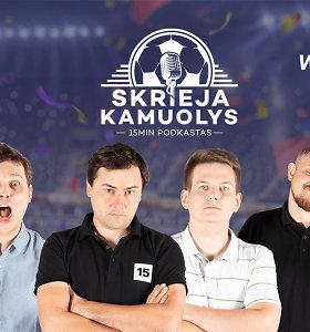 """Skrieja kamuolys"": favoritų kova Vilniuje, anglai, Der Klassiker ir rasizmas Italijoje"