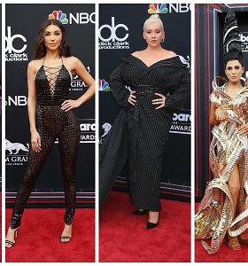 """Raudono kilimo policija: prasčiausiai apsirengusios """"Billboard"""" apdovanojimų žvaigždės"""