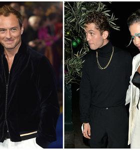 Rita Ora susižavėjo aktoriaus Jude'o Law sūnumi: jųdviejų romanas užsimezgė filmavimo aikštelėje