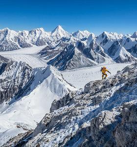 Viršukalnėms Tian Šanio kalnuose lietuviai alpinistai davė J.Basanavičiaus ir A.Vidugirio vardus