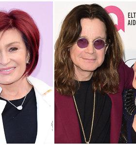 Sharon Osbourne ryžosi drastiškiems pokyčiams: raudonus plaukus iškeitė į natūralesnį įvaizdį