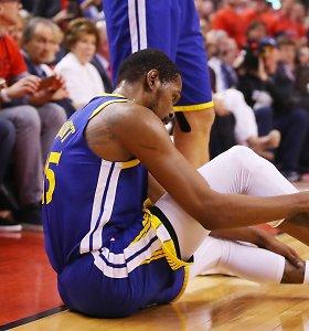 """K.Durantas prakalbo apie savo traumą: """"Tai – ne """"Warriors"""" kaltė"""""""