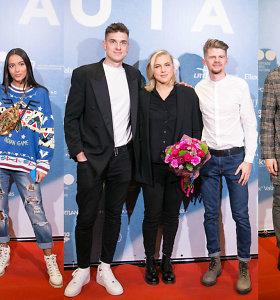 """Filmo """"Rūta"""" VIP premjera: raudonu kilimu žengė garsūs svečiai ir į Lietuvą grįžusi Rūta Meilutytė"""