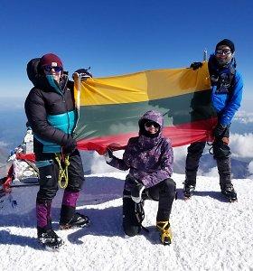 Kalifornijoje gyvenančios lietuvių šeimos pomėgis – kolekcionuoti kalnų viršūnes