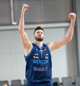 Amžius – ne kliūtis: D.Lavrinovičius reguliariojo sezono metu pelnė daugiausiai taškų