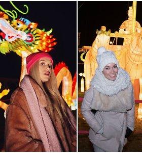 """Žinomi žmonės liko sužavėti Pakruojo šviesų festivaliu """"Didieji Kinijos žibintai"""""""