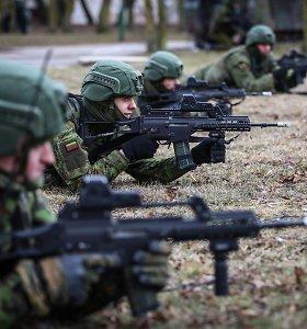 Keičiasi Lietuvos karių, dalyvaujančių mokymo operacijoje Ukrainoje, pamaina