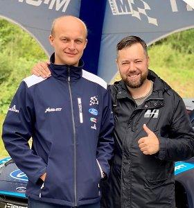 "Ką Deividas Jocius veikia WRC ""M-Sport"" komandoje?"