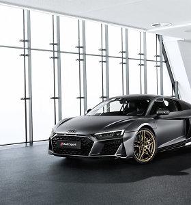 """Prieš išnykstant benzininiams varikliams """"Audi"""" skuba pristatyti """"R8 V10 Decennium"""""""